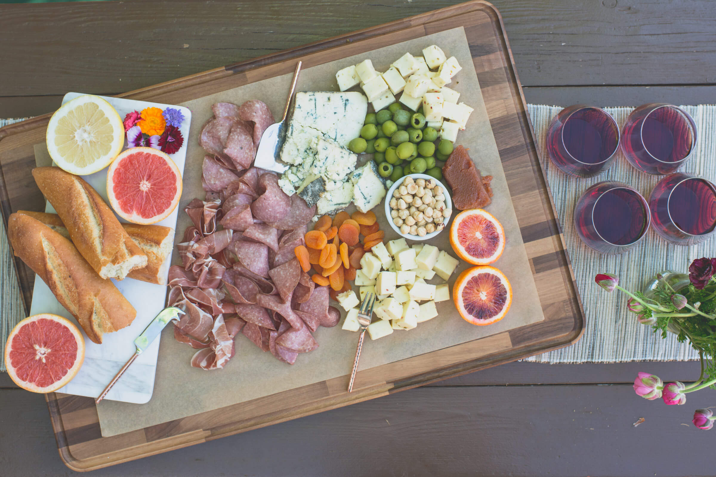 Charcuterie and Red Wine