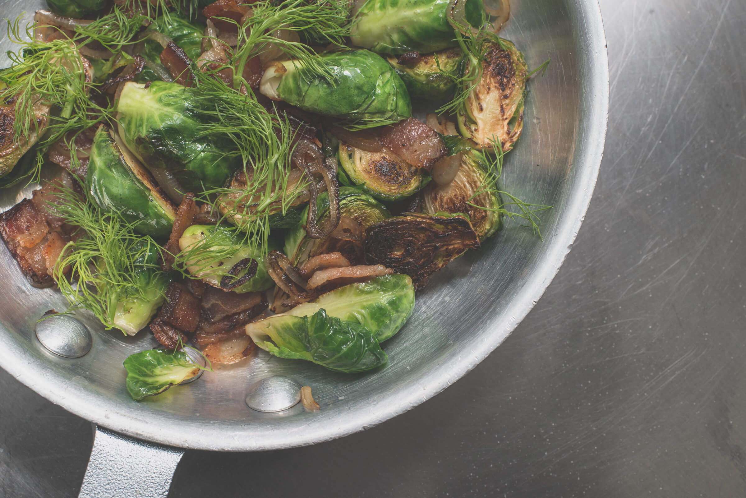 Tossed Brussels Sprouts